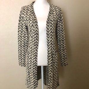Xhilaration- mid length sweater cardigan